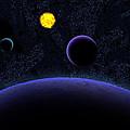 Solar System by Harley Hart