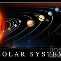 Solar System Poster by Stocktrek Images