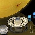 Solar System Size Comparison by Carlos Clarivan