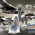 Solarized Infrared City Park by Paul W Faust -  Impressions of Light