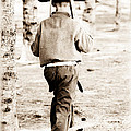 Soldier Boys Wooden Rifles by Athena Mckinzie