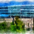 Soldier Field Chicago Photo Art 01 by Thomas Woolworth