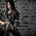 Soldier Girl by Jim Boardman