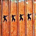Soldier Graffiti by Jess Kraft
