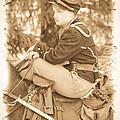 Soldier On Horse by Steve McKinzie