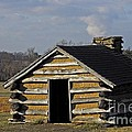 Soldiers' Barracks At Valley Forge by Cindy Manero