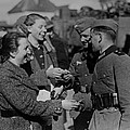 Soldiers Receive Gifts From Austrian by Everett
