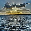Solent Sun Rays by Gary Eason