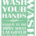 Solid Wash Your Hands by Tessa Murphy