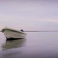 Solitary Boat by Adam Romanowicz