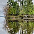 Solitude At Pinheys Point Ontario by Rob Huntley