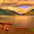 Solitude On Crescent Lake by John Absher