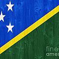 Solomon Islands Flag by Luis Alvarenga