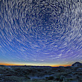 Solstice Star Trails At Dinosaur Park by Alan Dyer