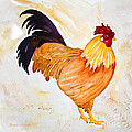 Some Days You Have To Paint A Rooster by Barbara McMahon
