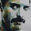 Freddie Mercury by Paul Lovering