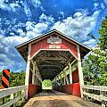 Somerset Pa Glessner Bridge by Adam Jewell