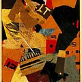 Something Or Other 1922 by Kurt Schwitters