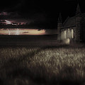 Something Wicked - Lightning - Chapel - Gothic by Jason Politte
