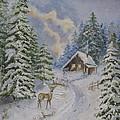 Somewhere In The Snowy Forest by Iliyana Lazarova