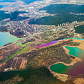 Somewhere Over Latvia. Rainbow Earth by Jenny Rainbow