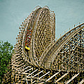 Son Of Beast Roller Coaster by Mountain Dreams
