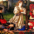 Song Of Love by Edward Burne Jones