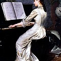 Song Without Words, Piano Player, 1880 by George Hamilton Barrable