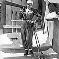 Sonja Henie With Ski Gear by Underwood Archives