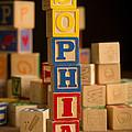 Sophia - Alphabet Blocks by Edward Fielding
