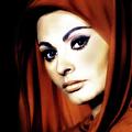 Sophia Loren by Georgiana Romanovna