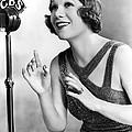 Soprano Vivienne Segal On Cbs by Underwood Archives