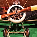 Sopwith Camel Airplane by Dan Sproul