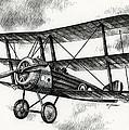 Sopwith Triplane 1917 by James Williamson