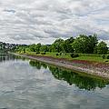 Sorpe Dam Panorama by Gary Eason