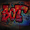 Sot Graffiti - Lisbon by Mary Machare