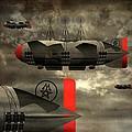 Sound Zeppelins by Milton Thompson