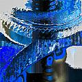 Sounder In Blue by William Durfey
