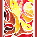 Sounds Of Color Doodle 2 by Irina Sztukowski