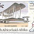 South Africa Stamp by Vladimir Berrio Lemm