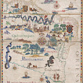 South America With Settlements by British Library