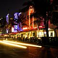 South Beach After Dark by Fran Gallogly