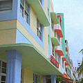 South Beach Facades by Tom Reynen
