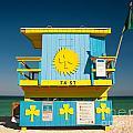 South Beach Miami by Chuck Spang