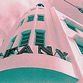 South Beach Miami Tiffany Hotel Tropical Art Deco by Steven Hlavac