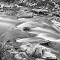 South Boulder Creek Little Waterfalls Rollinsville Bw by James BO Insogna