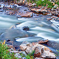 South Boulder Creek Little Waterfalls Rollinsville by James BO Insogna