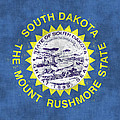 South Dakota Flag by World Art Prints And Designs