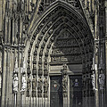 South Entrance Cologne Cathedral by Teresa Mucha