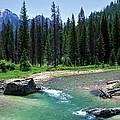 South Fork Payette River Grandjean by Ed  Riche